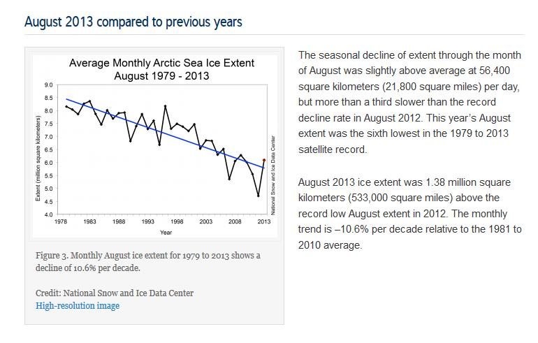 NSIDC Arctic Sea Ice News report for August 2012