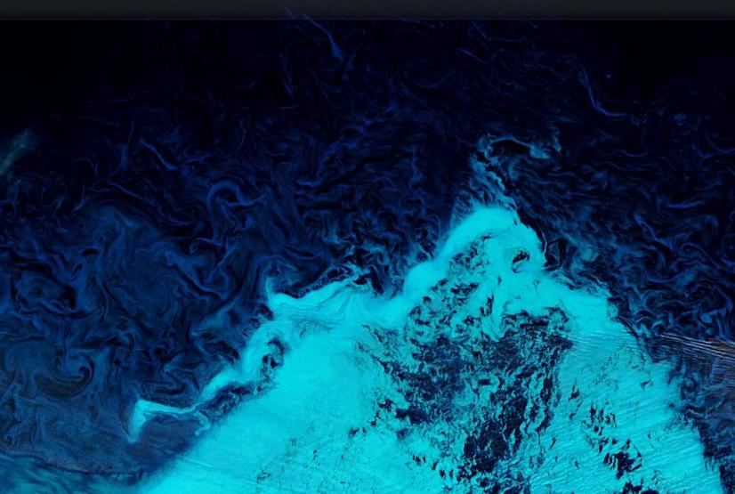 "The ice off ""Russia's northern shores"" as seen by the Aqua satellite on Saturday September 21st 2013"