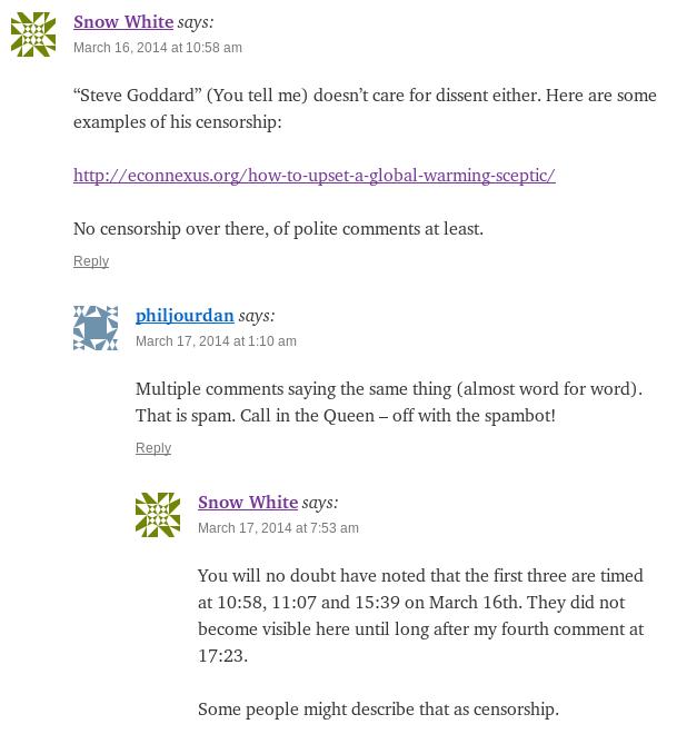 "Convincing evidence of censorship at Steve Goddard's ""Real Science"" blog"