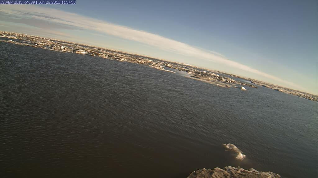 Ice Mass Balance Buoy 2015A webcam image on June 28th 2015
