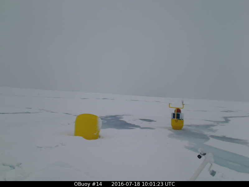 O-Buoy 14 image from July 18th 2016. Note the sprinkling of fresh snow.
